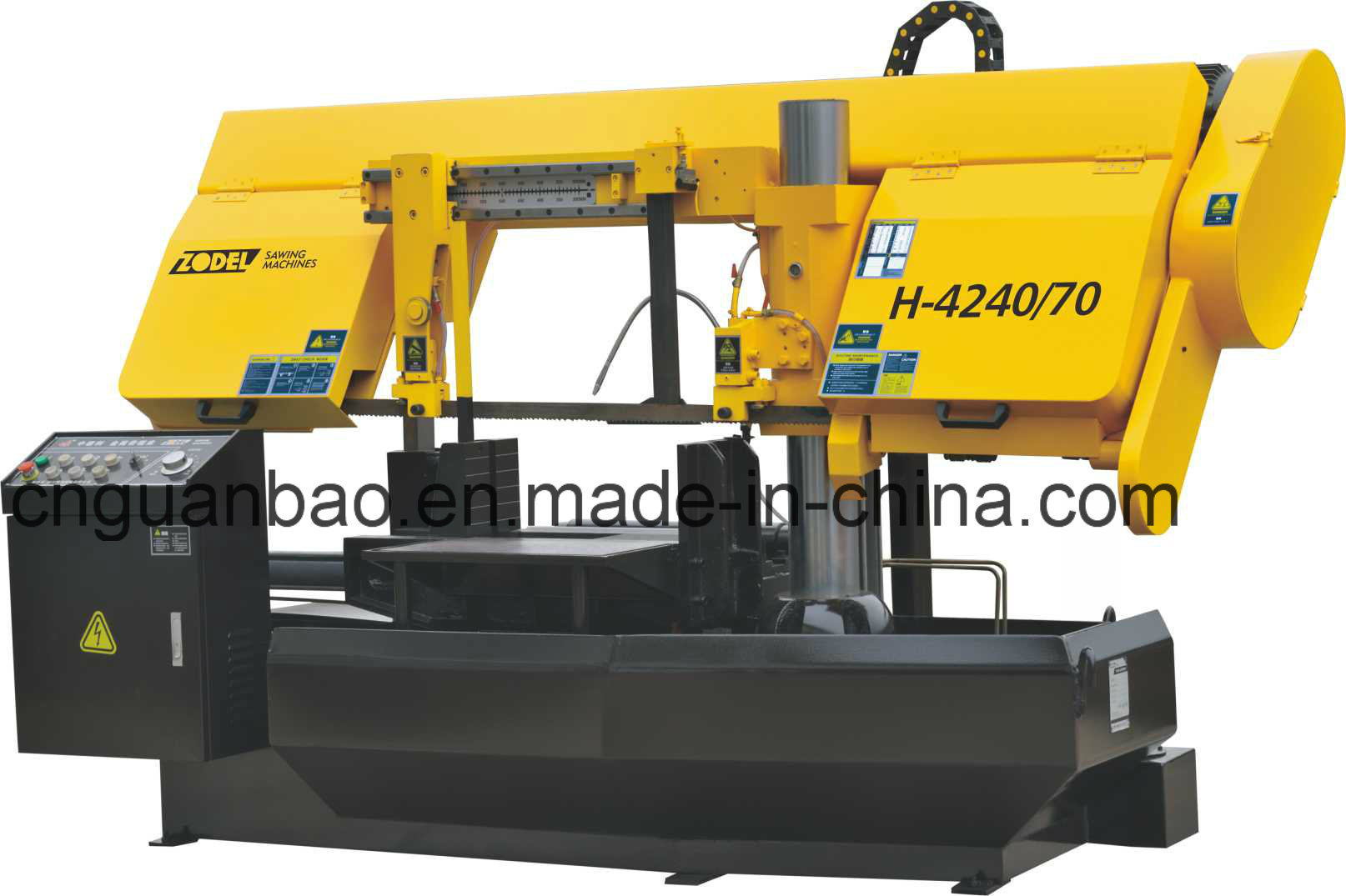 High Quality Band Saw Machine with Taiwan Spare Parts