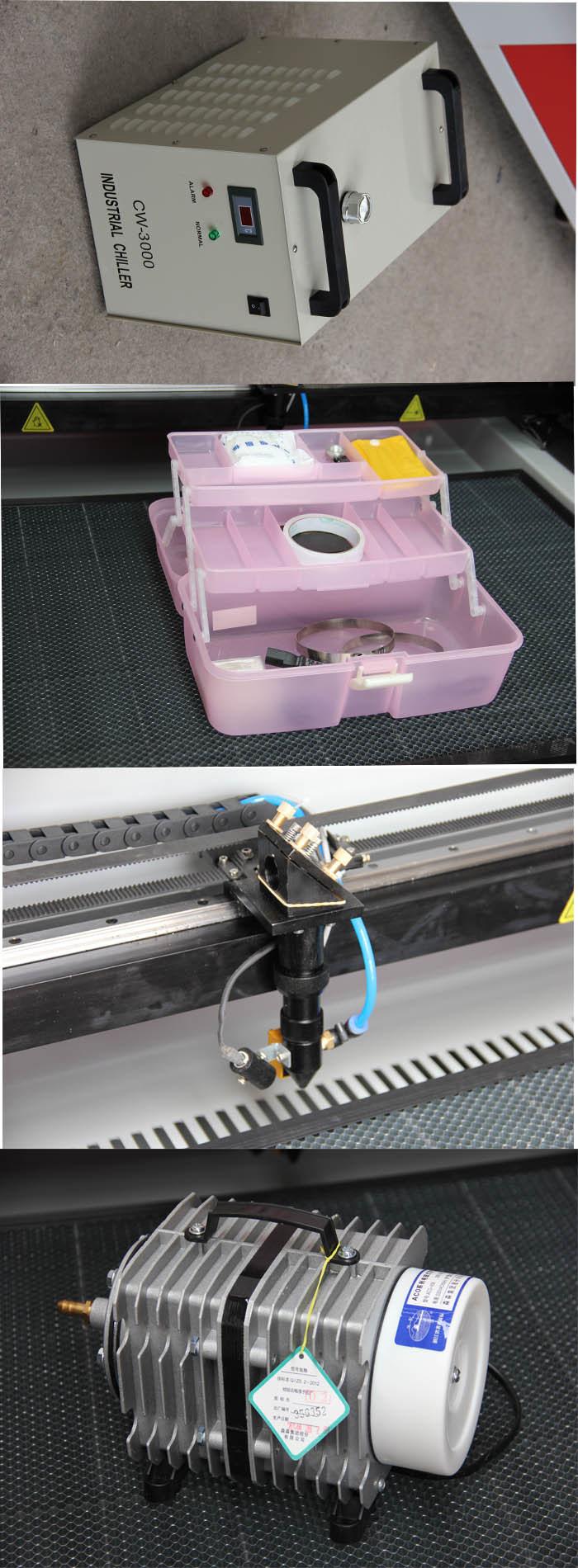 Organic Glass/Acrylic Wood MDF CNC Laser Cutter