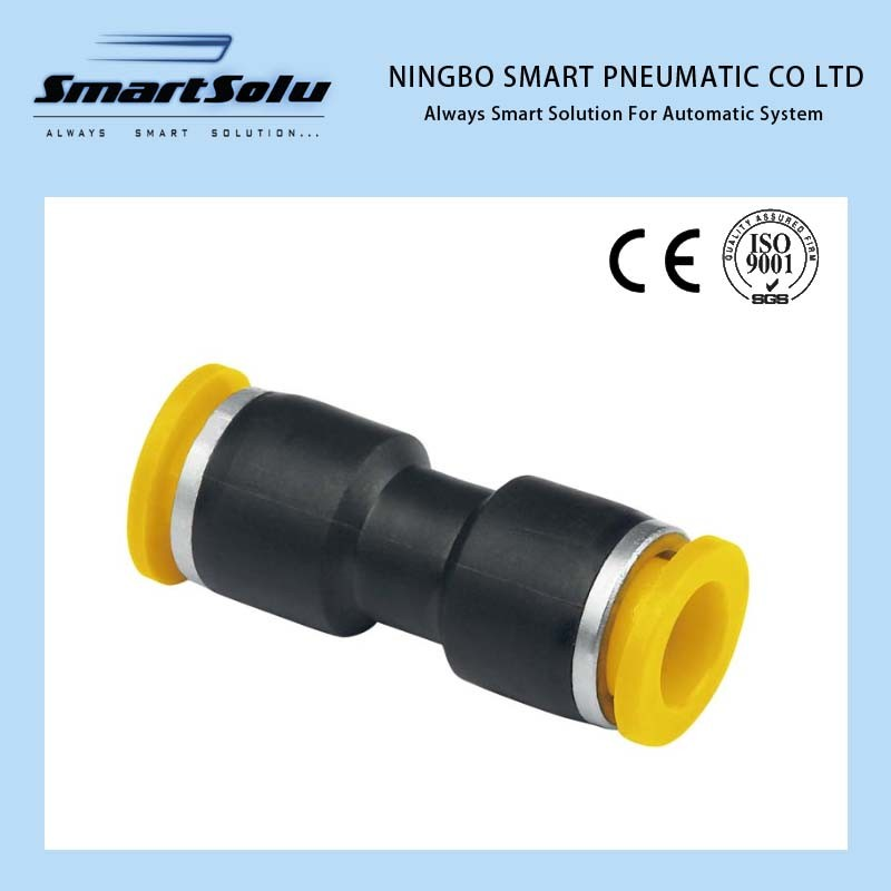 Ningbo Smart 100% Tested Plastic Metal Pneumatic Fittings