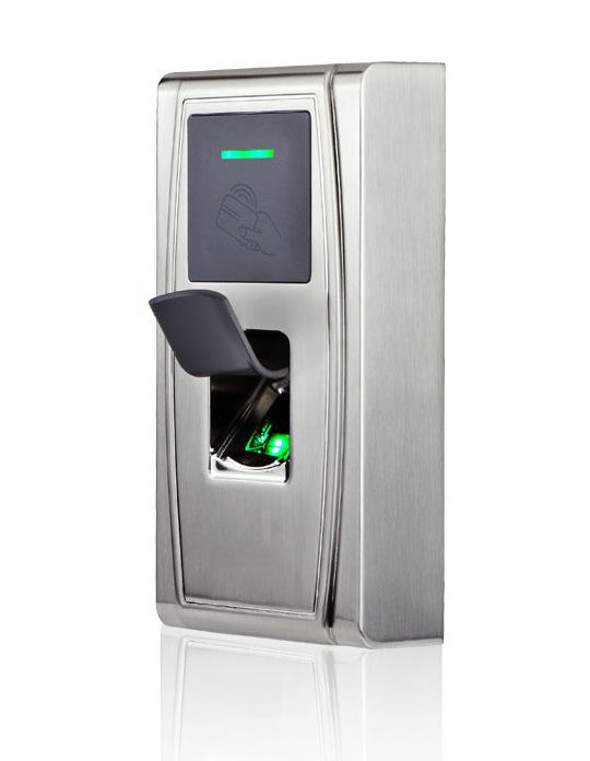 Metal Vandal-Proof IP65 Outdoor Biometric Fingerprint Access Control Reader