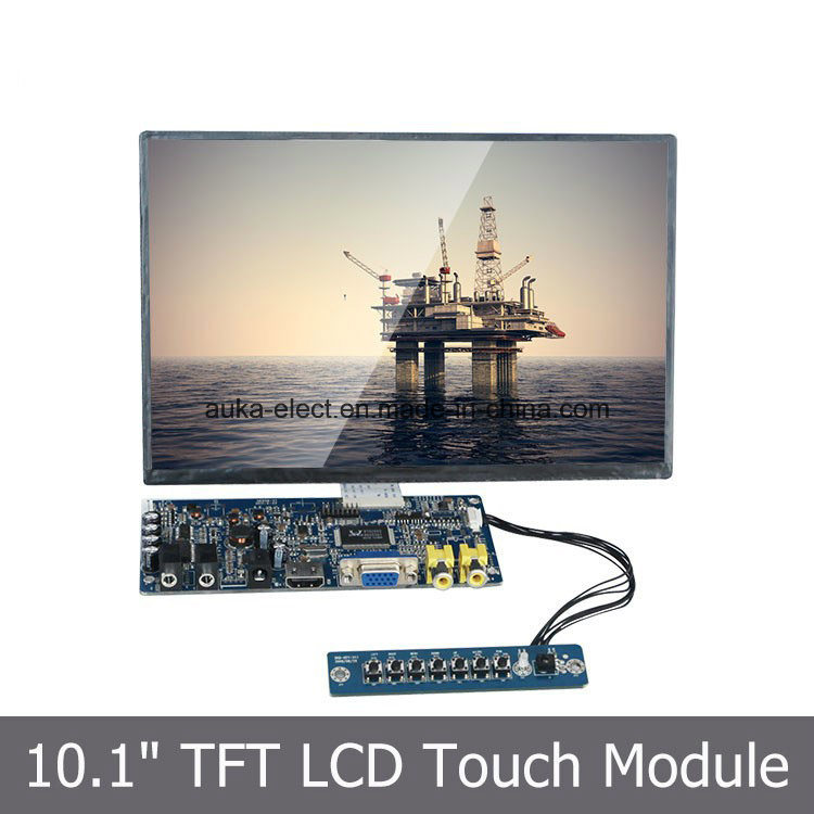 "10.1"" SKD LCD Touch Display for Industrial Automation"