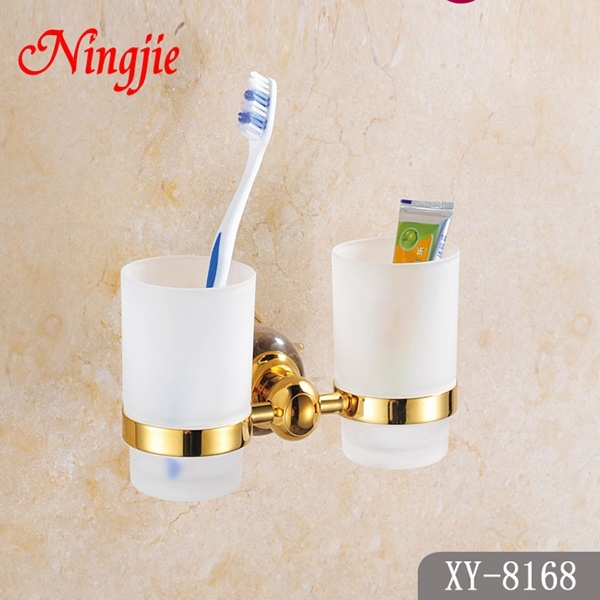 Luxury Style Bathroom Accessories Double Cup (8168)