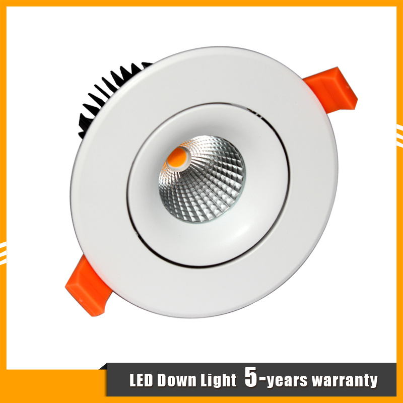 15W Recessed COB LED Down Light/Spotlight for Shop/Hotel/Mall Commercial Lighting