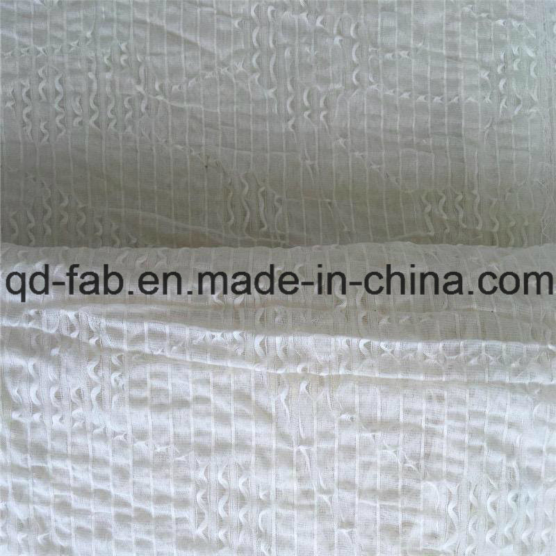 71%Cotton26%Nylon3%Spandex Jacquard Fabric Like Lace (QF16-2510)