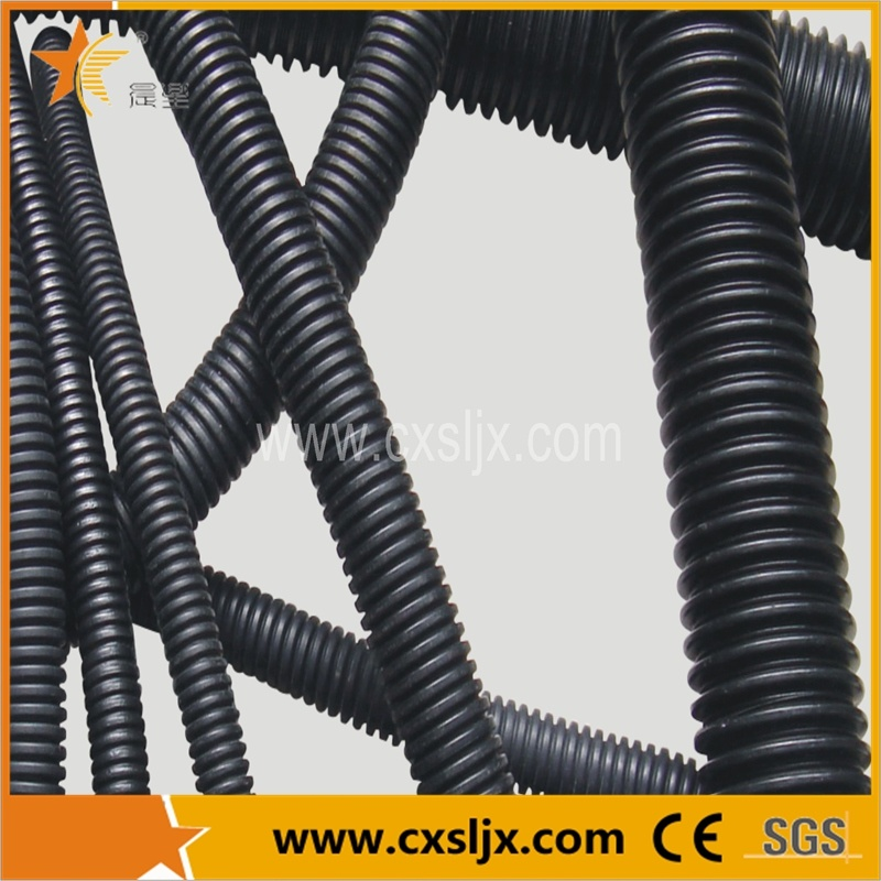 Corrugated Pipe Plastic Machine for Wires and Cable Passing