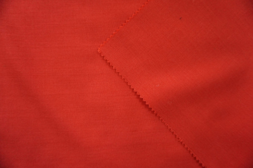 Red Wool Fabric Plain Suit