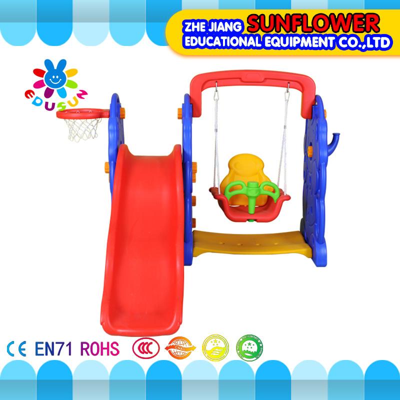 Outdoor Playground--Elephant Children Toys Kindergarten Soft Plastic Slide Playground (XYH12065-2)