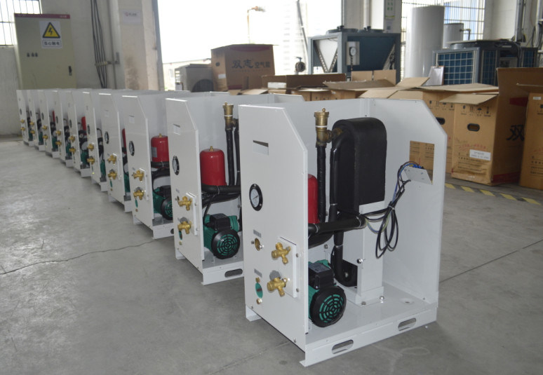 Running-30c Winter Ground Water Derectly to Air Duct Connect Room Grid Heating+Cooling 5kw, 9kw, 18kw Geotermal Air Conditioner