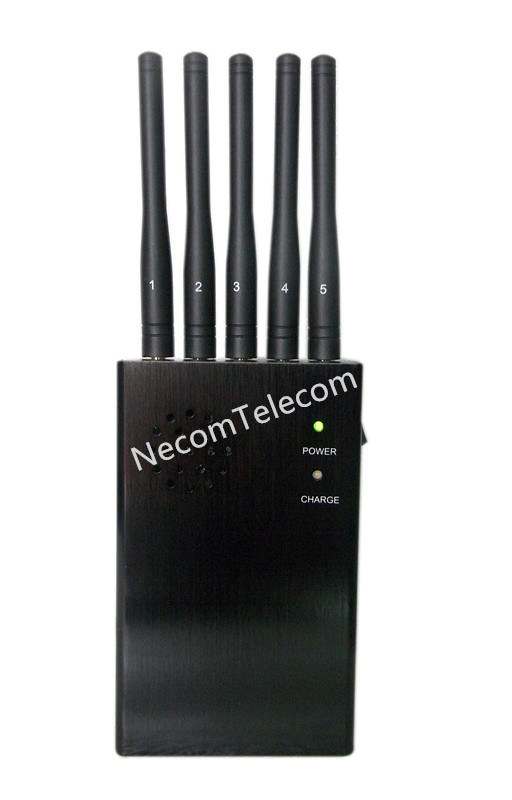 China Cell Phone & Lojack & GPS Jammer for 2g+3G+CDMA+4G / Portable 5 Bands Antennas Jammer - China Cell Phone Jammer, Lojack Jammer