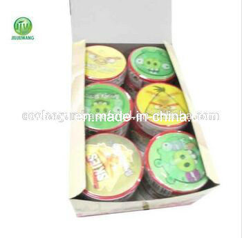 3D Animal Shaped Mix Fruit Bubble Roll Gum Candy