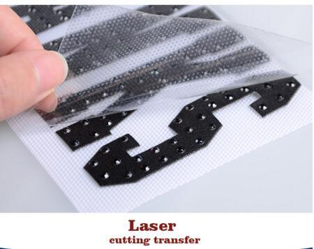 2016 Different Types of Laser Heat Transfer Stickers High Quality