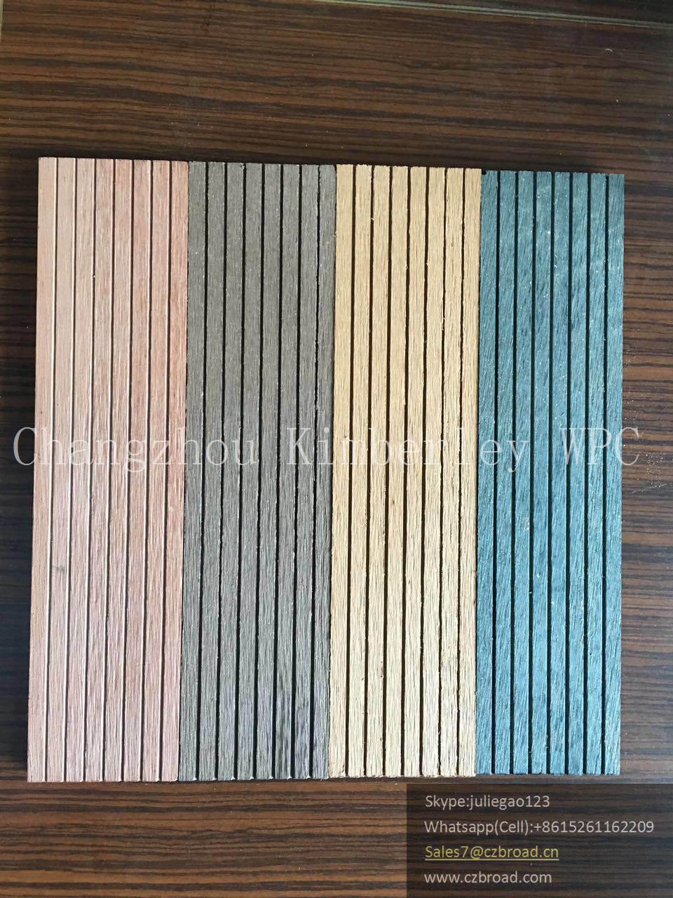 Wood Grain Timber Decking Floor