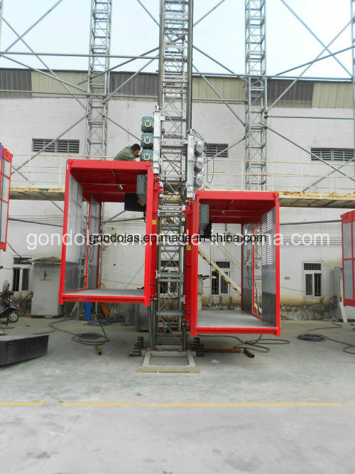 Double Cage Building Hoist (SC200/200)