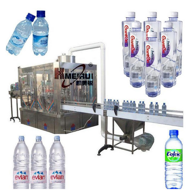 High Precision Monobloc 3 in 1 Water Filling Machine