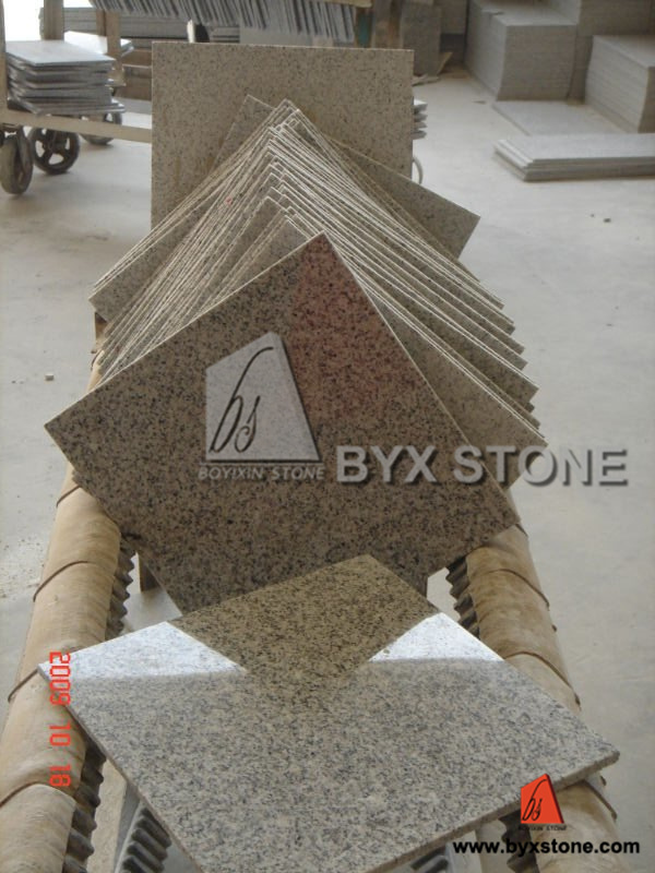 Natural White / Black / Yellow / Multicolor / Grey Granite for Tile, Slab