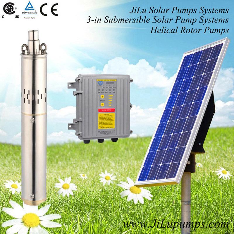 3inch Stainless Steel Deep Well Pump, Solar DC Irrigation Pump