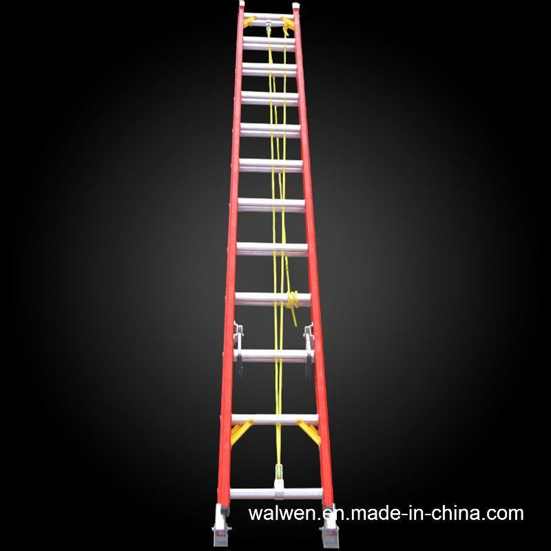 En131 High Quality Multifunctional Insulated Fiberglass Extension Ladder