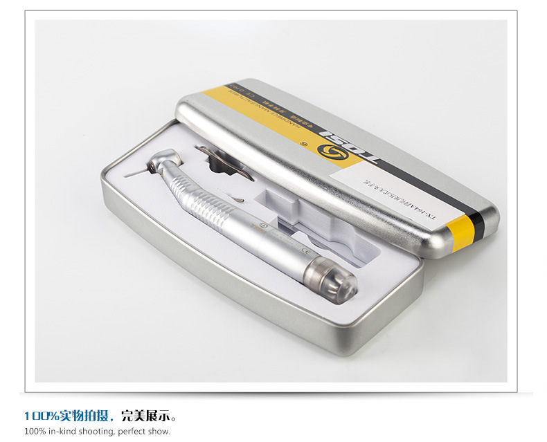 Dental LED E Generator Self Light Handpiece with Low Noise