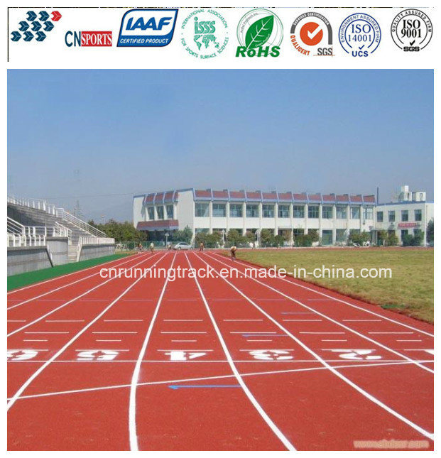 13mm Thickness Self-Knot Synthetic Running Track Sports Field Stadium
