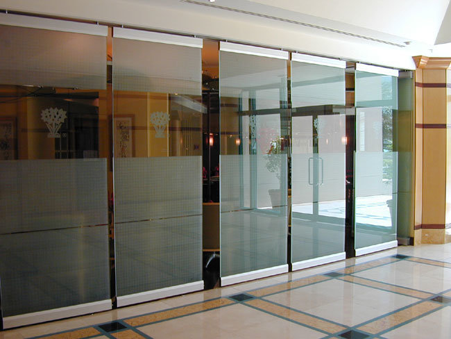 China sliding glass partitions photos pictures made in for Sliding glass wall price