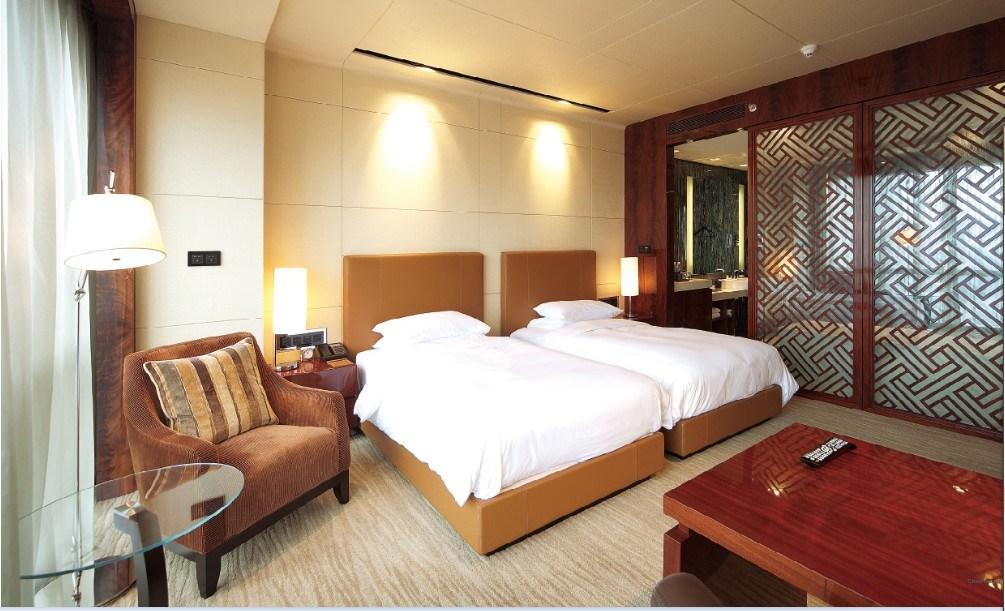 Muebles dobles de lujo estándar del dormitorio del doble del hotel de