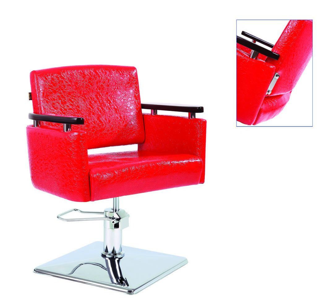 Red Styling Chair 006 43 China Salon Chair Styling Chair