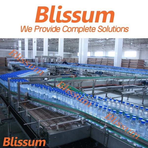 Automatic Plastic Bottle Still Water Production Line