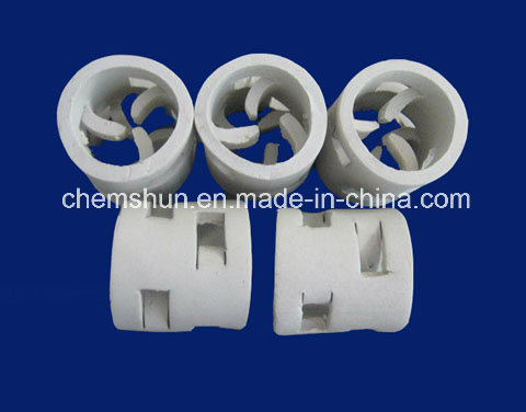 Ceramic Pall Ring for Scrubbing Towers