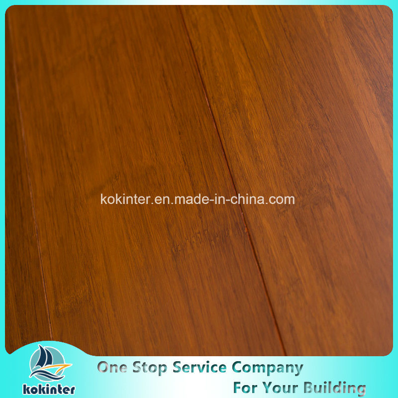 Super Quality Factory Directly Indoor Usage Strand Woven Bamboo Parquet-Satin Teak Color with Cheap Price