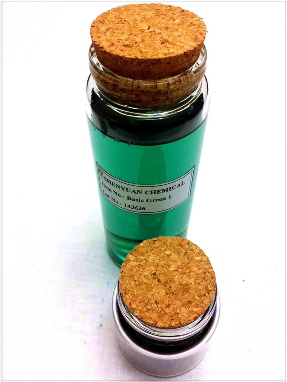 Dyestuff: Liquid Basic Green (1) for Paper