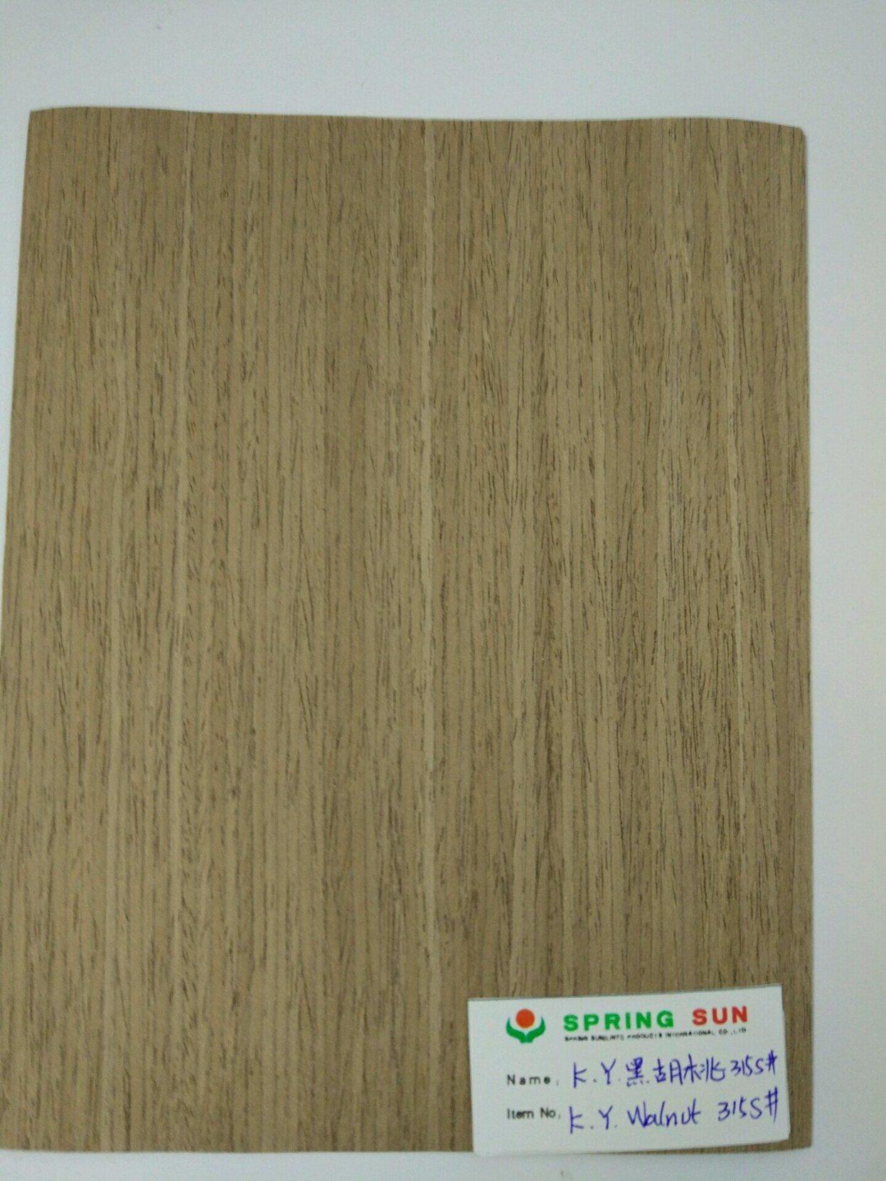 Natural Wood Veneer for Decoration