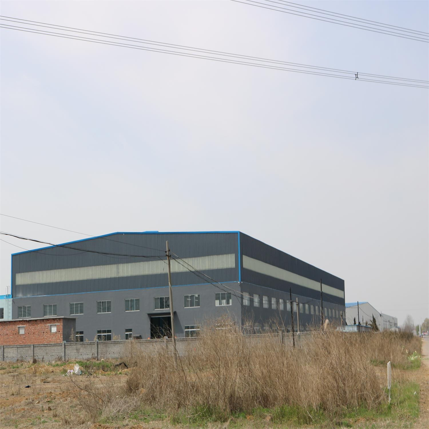 Environmental Light Steel Structure Prefab Warehouse with Office Room