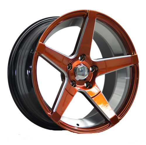 17 Inch New Color Painted Inner Groove Alloy Car Wheel