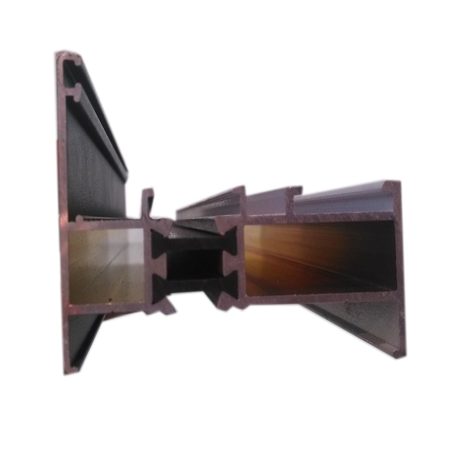 Energy Saving Insulation Sliding Window and Door Aluminium Extrusion Profile Aluminum Profile