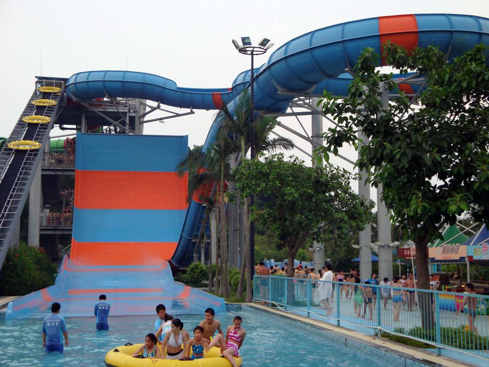 Giant Boomerang Water Slide for Water Park, Amusement Park