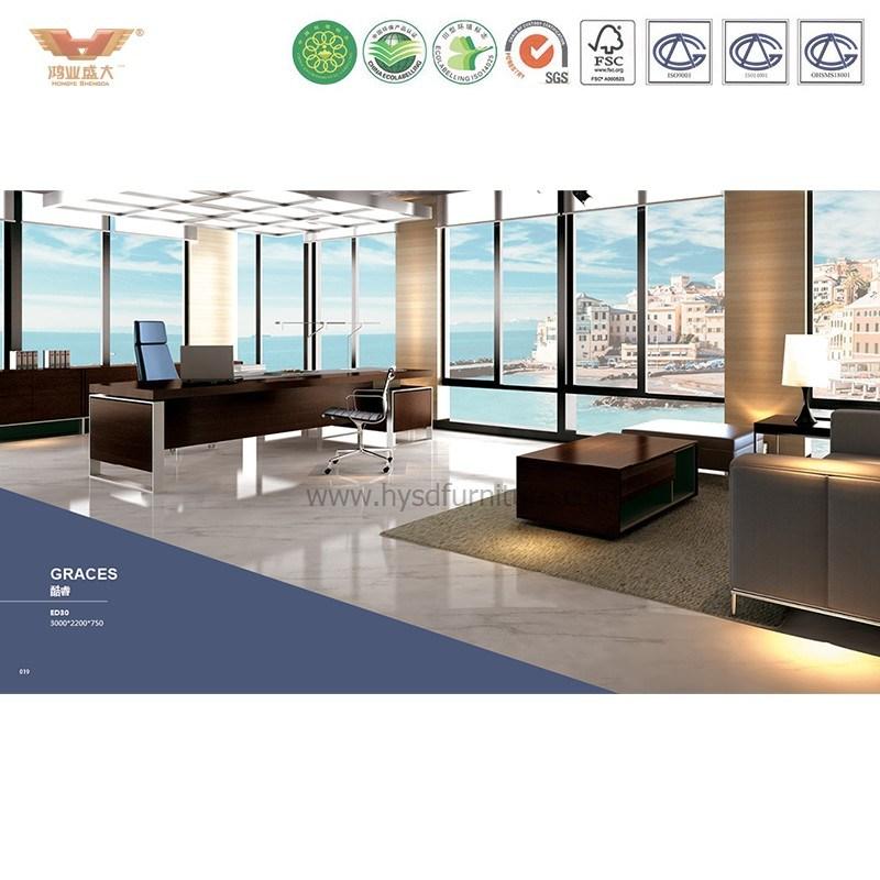 Modern Office Furniture L Shape Executive Desk (JOINER ED26)