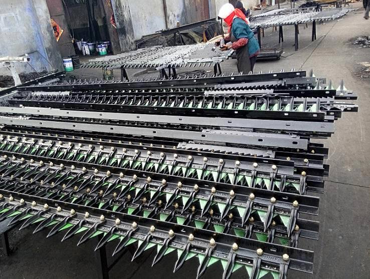 Factory Straight Sale Combine Harvester Spare Parts Custom-Made Cutter Unit of Reciprocator Cutter Knife Bar Assemble