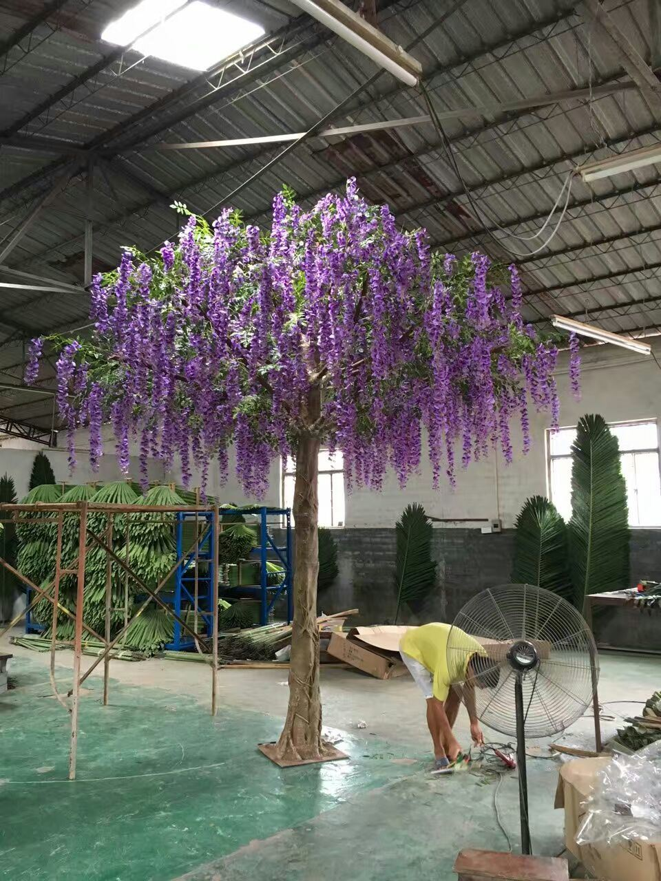 High Quality Artificial Flower Tree Westeria Gu1469163281735