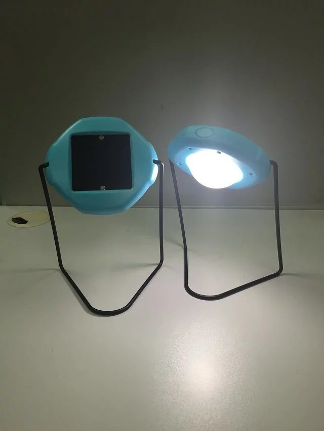 UFO Design Solar Desk Table LED Lamp Light for Student Reading