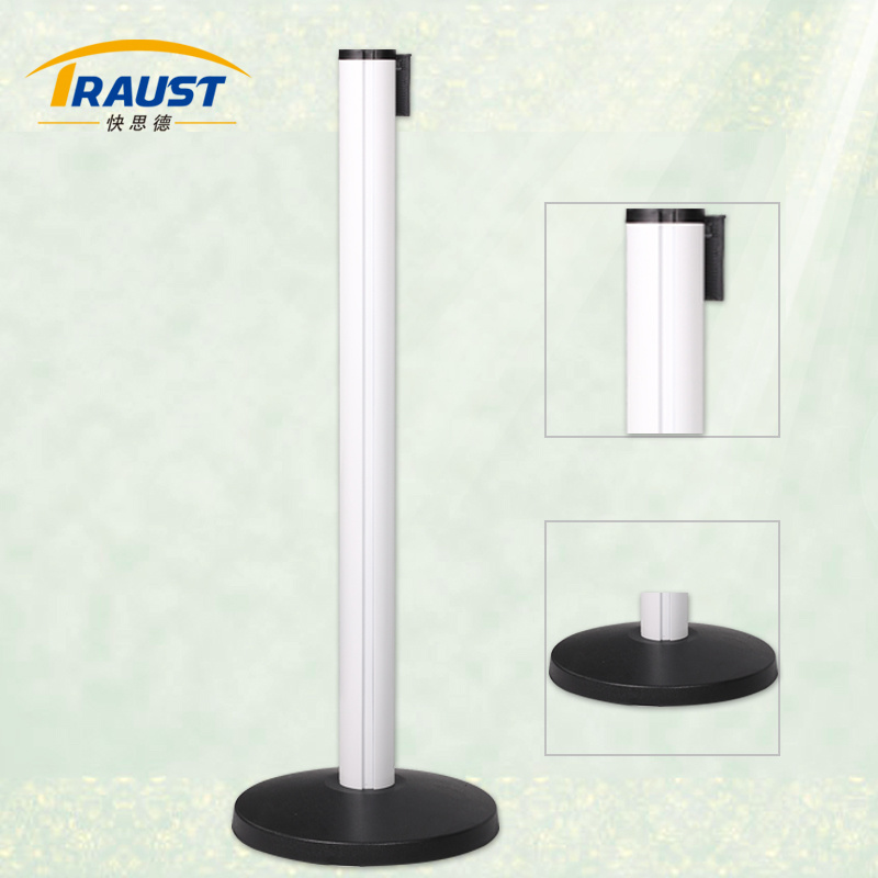 Wholesale High Quality Retractable Belt Stanchion/Aluminum Barrier