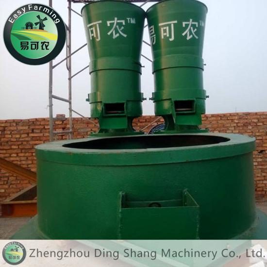 Organic Fertilizer Granule Polishing Machine / Circular Granules Organic Fertilizer Machine