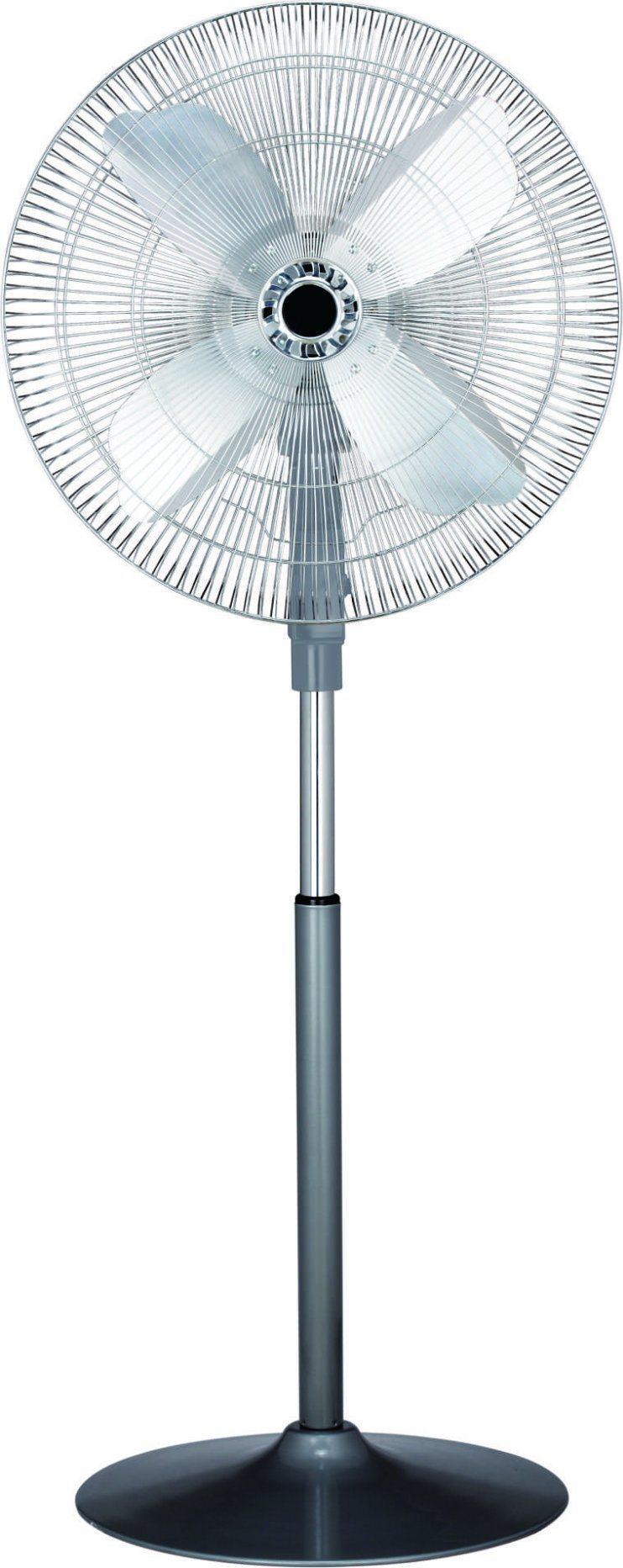 """Middle East Aluminium Blade 20"""" DC12V Solar Stand Fan Battery Fan"""