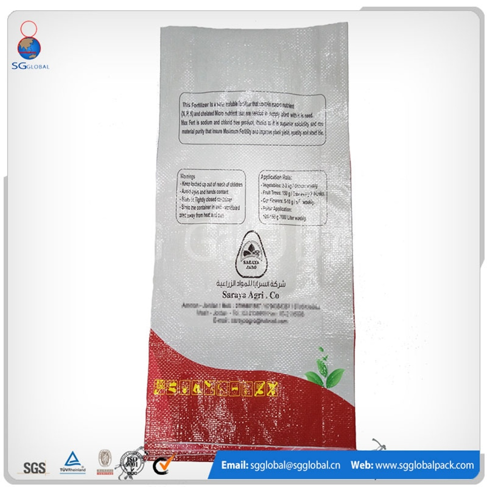 China Laminated Packaging Woven Bag