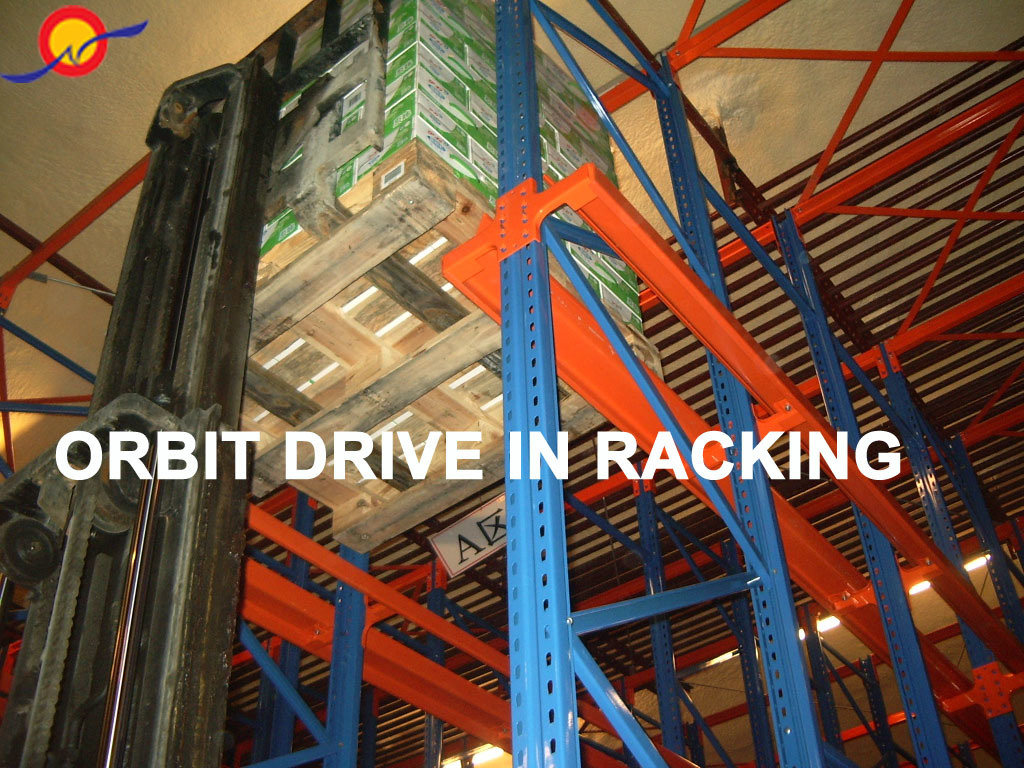 Orbit CE Approved Heavy Duty Drive in Racking (OBGTHJ)