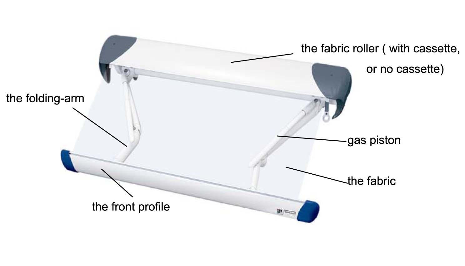Folding-Arm Awning (Suncode 1500) - China Folding-Arm ...