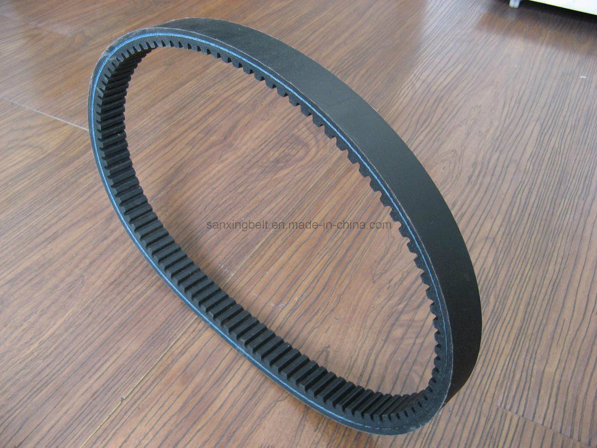 Variable Speed Rubber Belt for Motorcycle