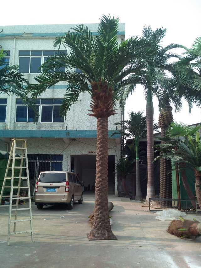 Artificial Coco Palm Tree Outdoor or Indoor Use Gu-Bj-769-Coco-Palm-Mix