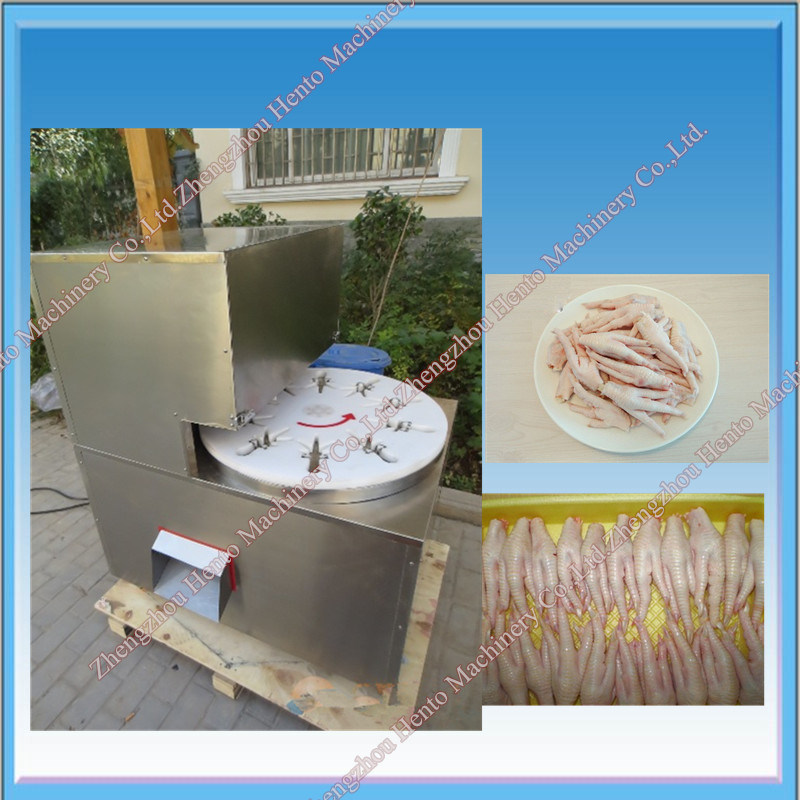 High-Efficiency Chicken Cutting Machine For Feet