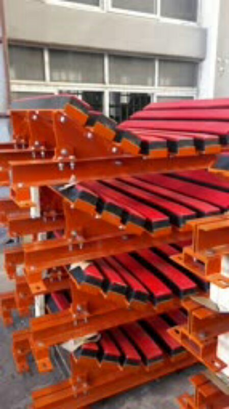 Heavy Type Hanging Buffer Bed for Belt Conveyor-2