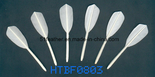 Cheapest Goose/Duck Feather Badminton Shuttlecocks with 3 Layers Cork Wood Head for Sports and Training